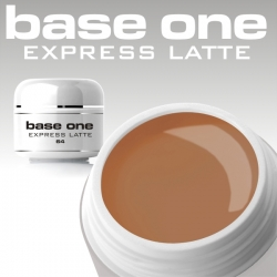 10 x 4 ml BASE ONE COLORGEL**OHNE LABEL*EXPRESS LATTE