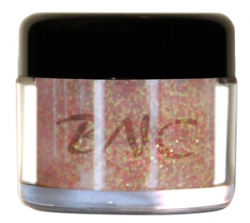 5g Glitter Farb Acrylpuder rot-gold