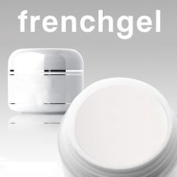 10 x 15 ml French-Gel natural white Nr. 5 *OHNE LABEL