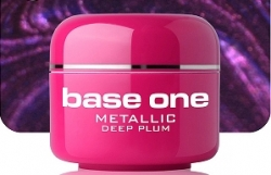 250ml BASE ONE METALLIC-COLORGEL*DEEP PLUM**NR. 46 -
