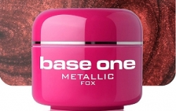 250ml  BASE ONE METALLIC-COLORGEL*FOX**NR. 3