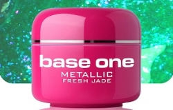 250ml BASE ONE METALLIC-COLORGEL*FRESH JADE**NR. 19
