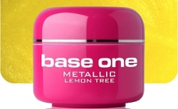 250ml BASE ONE METALLIC-COLORGEL*LEMON TREE**NR. 24