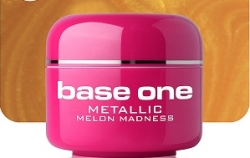 10 x 4 ml BASE ONE METALLIC-COLORGEL*MELON MEDNESS*OHNE LABEL*NR. 26