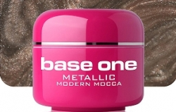 250ml  BASE ONE METALLIC-COLORGEL*MODERN MOCCA**NR. 38