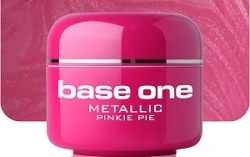 250ml  BASE ONE METALLIC-COLORGEL*PINKY PIE**NR. 34