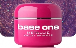 250ml BASE ONE METALLIC-COLORGEL*VIOLET SHIMMER**NR. 44