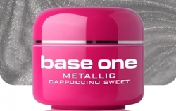 250ml BASE ONE METALLIC-COLORGEL*CAPPUCINO SWEET**NR. 37