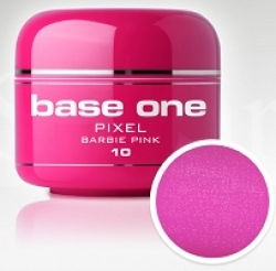 250ml Base one Pixel sparkling neon barbie pink **Nr. 10