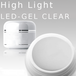 1000ml High Light Gel Led clear