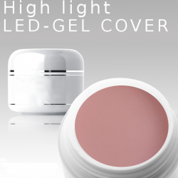 3ml High Light Gel Led cover **MUSTERGEL