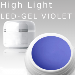 3ml High Light Gel Led violet**MUSTERGEL