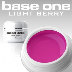 10 x 4 ml BASE ONE COLORGEL**OHNE LABEL*LIGHT BERRY