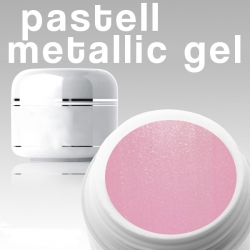 4 ml Metallic Gel** Pastell hellrosa***NEW**