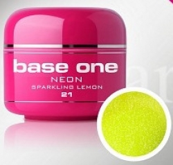 250ml Base one Pixel sparkling neon yellow***NR. 21
