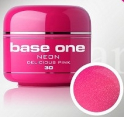 1 LITER  Base one Pixel neon glitter delicious pink**NR. 30