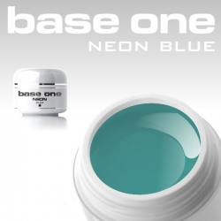 10 x 4 ml BASE ONE NEON COLORGEL**OHNE LABEL*NEON BLUE