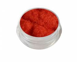 Velvet Samt Plüsch Powder orange