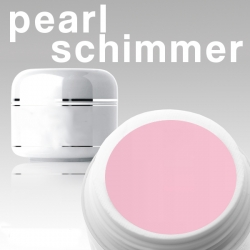 "10 x 50ml PERL*SCHIMMER*EFFEKT Camouflagegel ""ROSE""*OHNE LABEL"