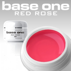 10 x 4 ml BASE ONE COLORGEL**OHNE LABEL*RED ROSE