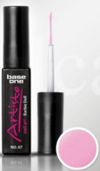 10ml  Base One Artisto Nail UV Gel Nr. 7 / rosa