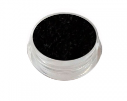 Velvet Samt Plüsch Powder black