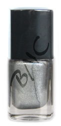 12ml  UV-POLISH-GEL-LACK  *FARBTON*METALLIC-SILBERGRAU*