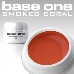 10 x 4 ml BASE ONE COLORGEL**OHNE LABEL*SMOKED CORAL