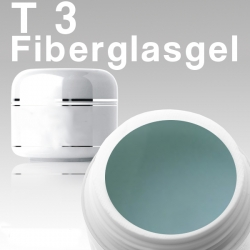 10 x 50ml T3 Fiberglas-Gel Clear*OHNE LABEL*