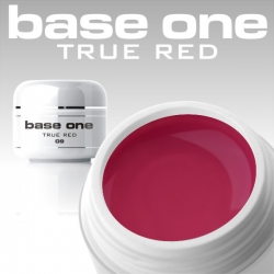 10 x 4 ml BASE ONE COLORGEL**OHNE LABEL*TRUE RED