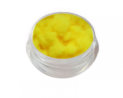 Velvet Samt Plüsch Powder yellow