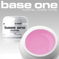 10 x 4 ml BASE ONE PASTELL COLORGEL*DARK PINK**OHNE LABEL