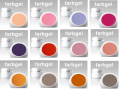 12 x 4ml COLORGEL-SET Nr.9