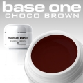 10 x 4 ml BASE ONE COLORGEL*CHOCO BROWN**OHNE LABEL