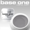 10 x 4 ml BASE ONE PASTELL COLORGEL*PASTELL GREY**OHNE LABEL