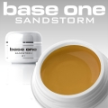 10 x 4 ml BASE ONE COLORGEL*SAND STORM*OHNE LABEL