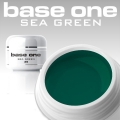 10 x 4 ml BASE ONE COLORGEL*SEA GREEN*OHNE LABEL