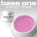 10 x 4 ml BASE ONE COLORGEL*SWEET PINK*OHNE LABEL