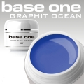 10 x 4 ml BASE ONE COLORGEL*GRAPHIT OCEAN*OHNE LABEL