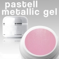 10 x 4 ml Metallic Gel** Pastell hellrosa***NEW**OHNE LABEL*