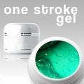 4 ml /3D/ONE STROKE FARBGEL*pearl-opal-green