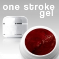 4 ml /3D/ ONE STROKE FARBGEL*ruby-red
