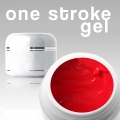 4 ml / 3D / ONE STROKE FARBGEL*fire red