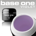 3 ml Base One UV Gel Violett  MUSTERGEL