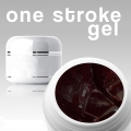 500 ml ONE STROKE FARBGEL*black-red