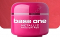 500 ml BASE ONE METALLIC-COLORGEL*PASSION RED**NR. 32