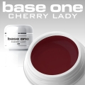 10 x 4 ml BASE ONE COLORGEL**OHNE LABEL*CHERRY LADY