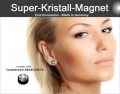 SWAROVSKI SUPER POWER KRISTALL MAGNET
