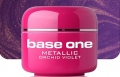 10 x 4 ml BASE ONE METALLIC-COLORGEL*ORCHID VIOLET*OHNE LABEL**NR. 43