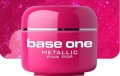 10 x 4 ml BASE ONE METALLIC-COLORGEL*PINKY POP*OHNE LABEL**NR. 35